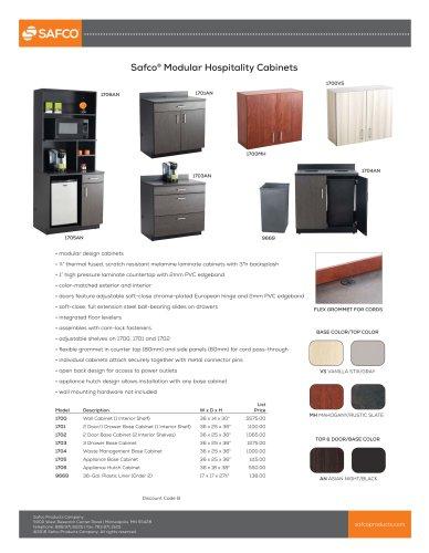 Safco® Modular Hospitality Cabinets