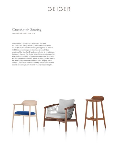 Crosshatch Seating