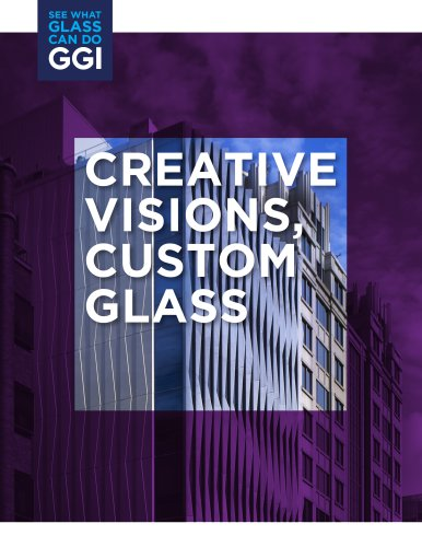 CREATIVE VISIONS, CUSTOM GLASS