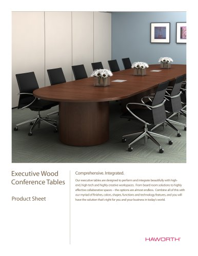 Executive Wood Conference Tables