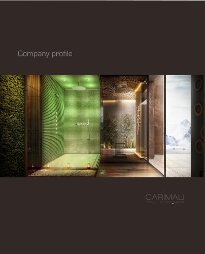 CARIMALI design shower_space - Company Profile