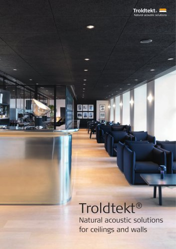 Troldtekt® Natural acoustic solutions for ceilings and walls