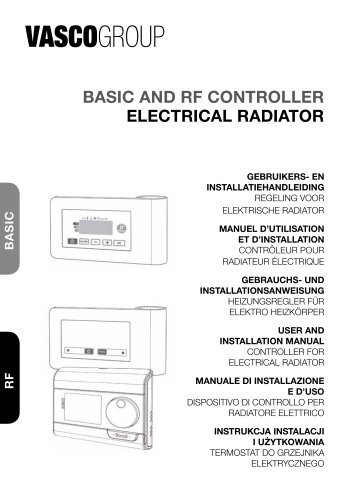 BASIC AND RF CONTROLLER