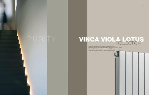 Collection Vinca Viola Lotus