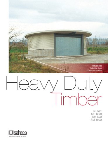Heavy Duty Timber