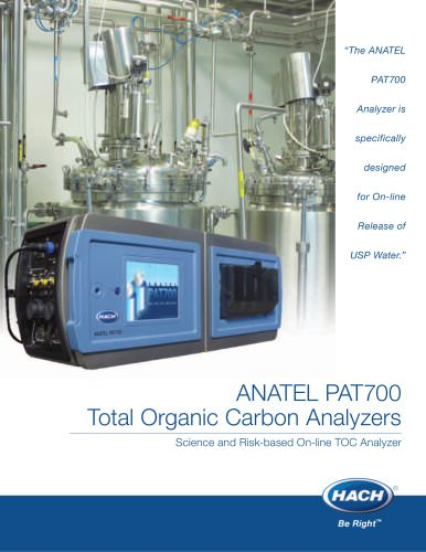 ANATEL PAT700 Total Organic Carbon Analyzer