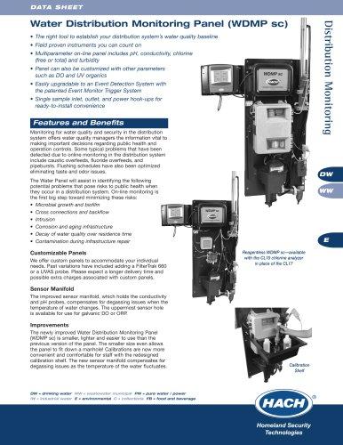 WDMP sc Water Distribution Monitoring Panel