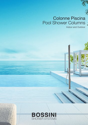 Pool Shower Columns