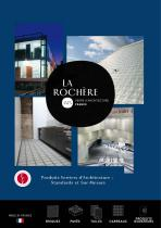 Catalogue La Rochère glass architecture
