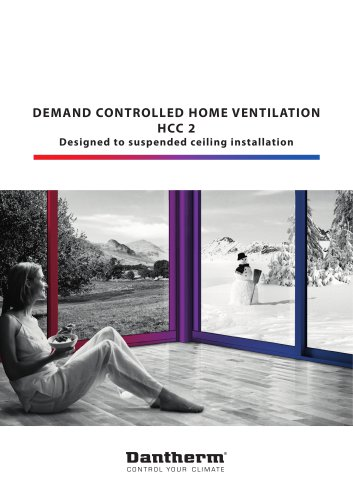 Demand-Controlled Home Ventilation - HCC2
