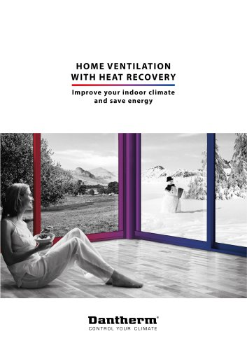 HOME VENTILATION WITH HEAT RECOVERY