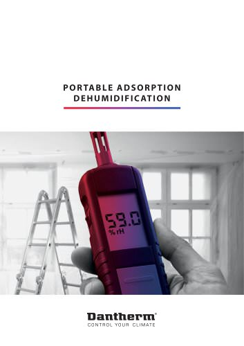 Portable Adsorption Dehumidification