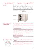 Comfort-Wohnungs-Lüftung CWL Excellent - 5