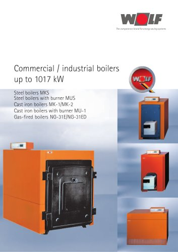 Commercial / industrial boilers