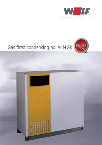 Condensation gas boiler MGK