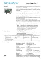Dachventilatoren DV / Dachlüftungshauben DLH / Entrauchungsventilatoren ER - 21