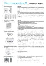 Dachventilatoren DV / Dachlüftungshauben DLH / Entrauchungsventilatoren ER - 43