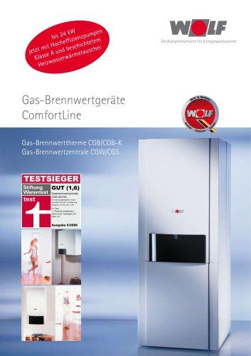 Gas-Brennwertgeräte ComfortLine
