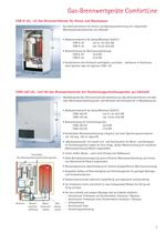 Gas-Brennwertgeräte ComfortLine - 3