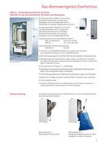 Gas-Brennwertgeräte ComfortLine - 5