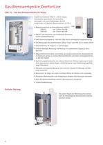 Gas-Brennwertgeräte ComfortLine - 6