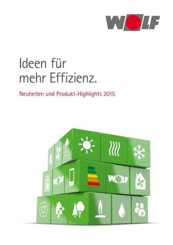 Neuheiten und Produkthighlights 2015
