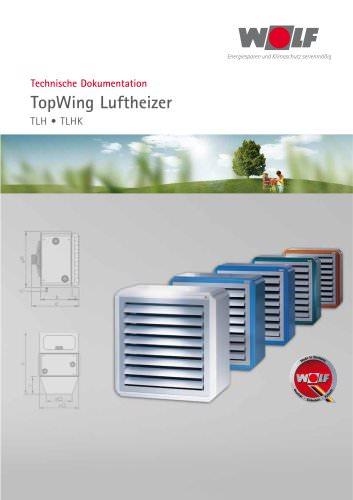 TopWing - Luftheizer TLH  TLHK