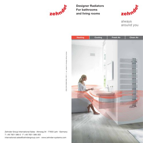 Designer Radiators For bathrooms and living rooms