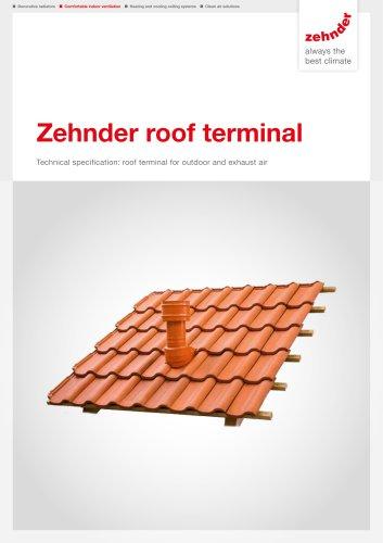 Zehnder roof terminal