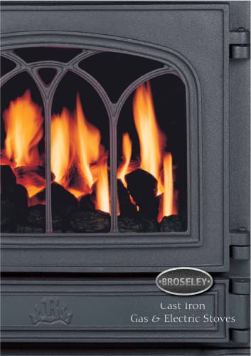 Cast Iron Gas & Electric Stoves