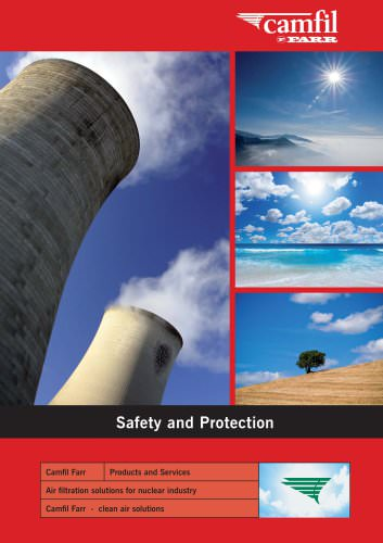 Nuclear, safety and protection catalogue