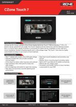 DATASHEET - CZone Touch 7