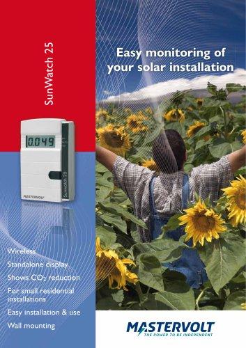SunWatch 25 monitoring