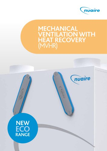MECHANICAL VENTILATION WITH HEAT RECOVERY (MVHR)
