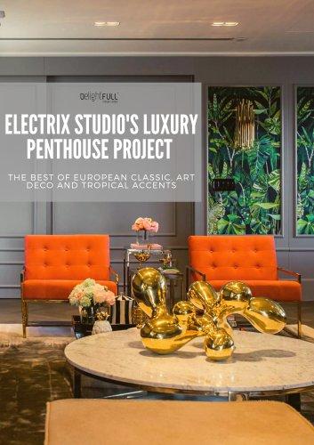Luxury Penthouse Project In Brazil by Electrix Studio