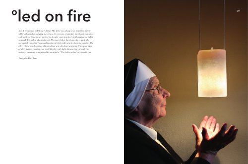 led on fire