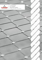 X-TEND - STAINLESS STEEL CABLE MESH