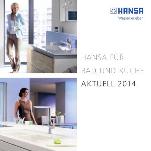 HANSA FÜR BAD UND KÜCHE AKTUELL 2014