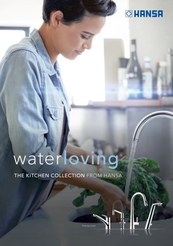 THE KITCHEN COLLECTION FROM HANSA