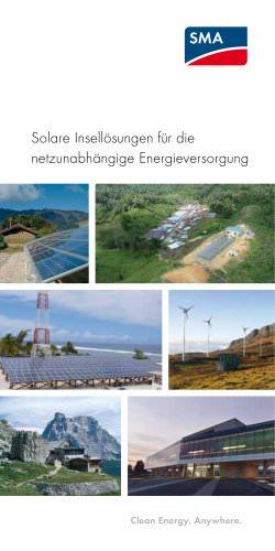 Solare Insellösungen für die netzunabhängige Energieversorgung