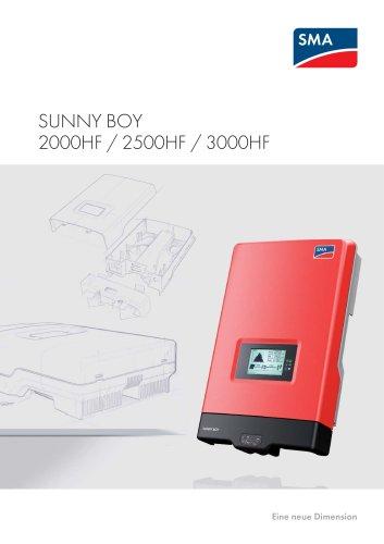 SUNNY BOY 2000HF / 2500HF / 3000HF - A New Dimension