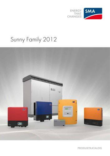 SUNNY FAMILY 2012 - PRODUKTKATALOG