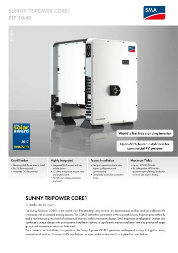SUNNY TRIPOWER CORE1