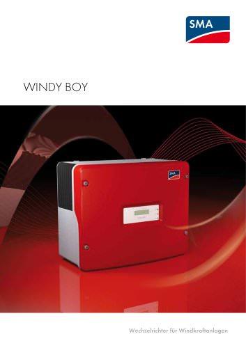 WINDY BOY - Wechselrichter für Windkraftanlagen