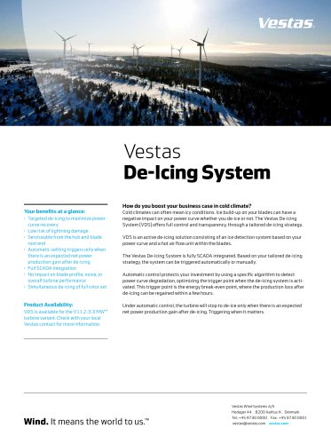 De-icing System