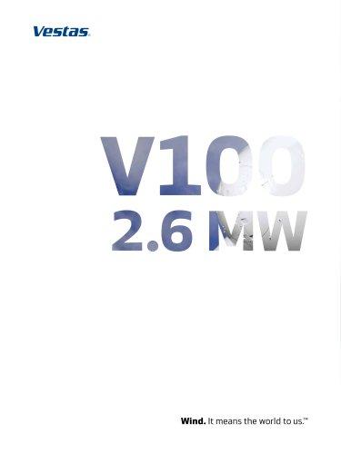 Vestas V100-2.6 MW