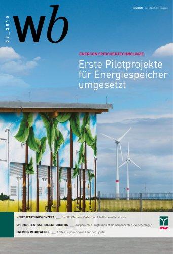 Erste Pilotprojekte für Energiespeicher umgesetzt