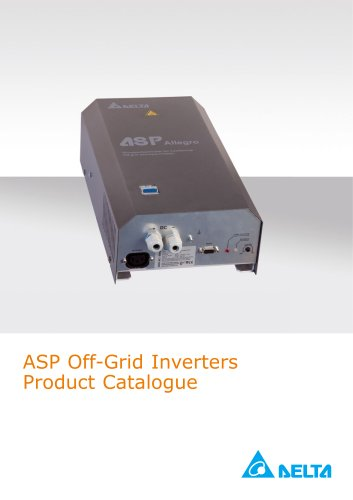 ASP Off-Grid Inverters Product Catalogue