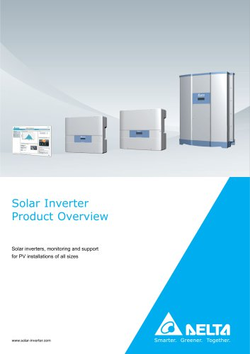 Solar Inverter Product Overview