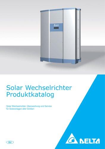 Solar Wechselrichter Produktkatalog